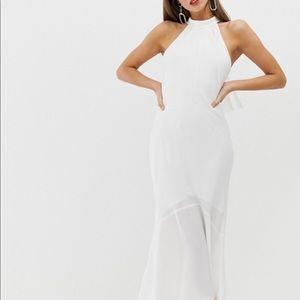 White dress from Asos
